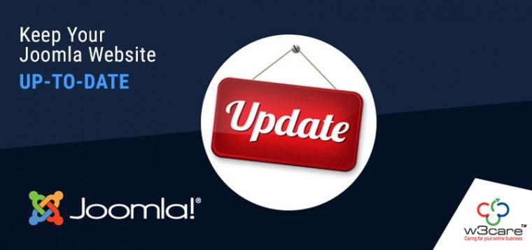 Keep Your Joomla Website Up-to-date
