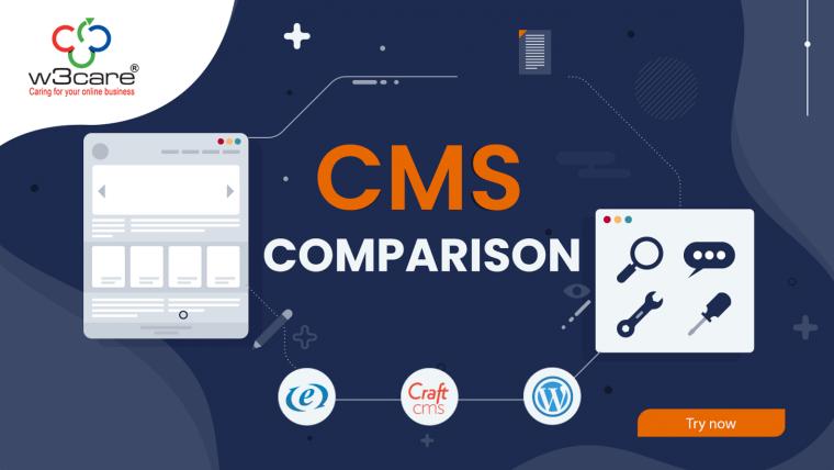A CMS Comparison - ExpressionEngine Vs Craft CMS Vs WordPress
