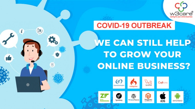 COVID-19 Outbreak – We can still help to grow your online business?