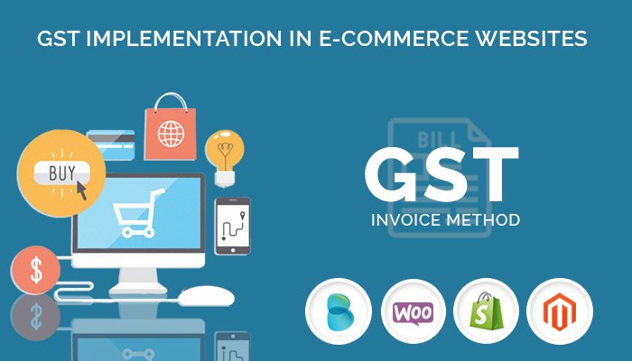 GST implementation in e-commerce Websites