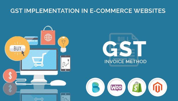 GST implementation in e-commerce Websites