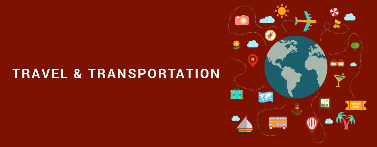 travel transportation banner
