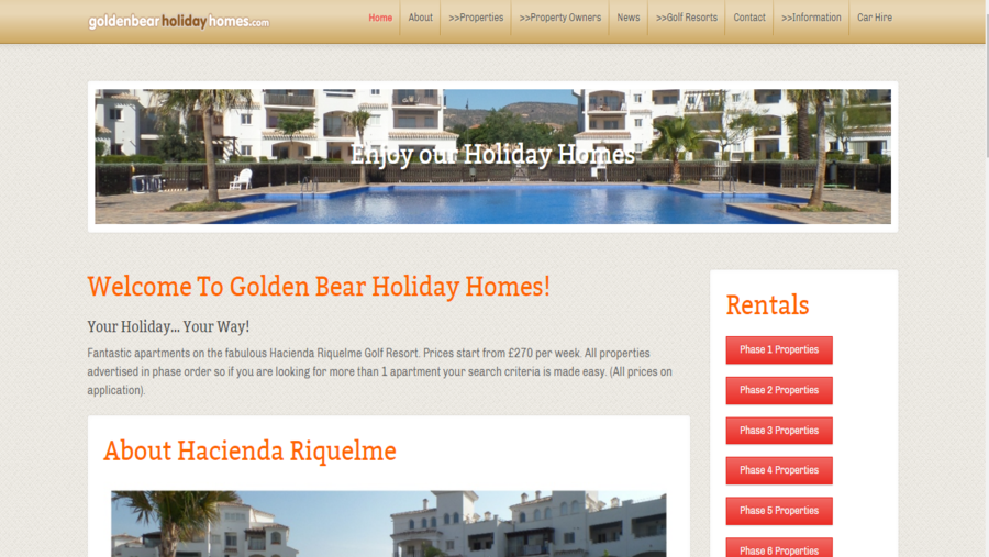 Golden Bear Holiday Homes